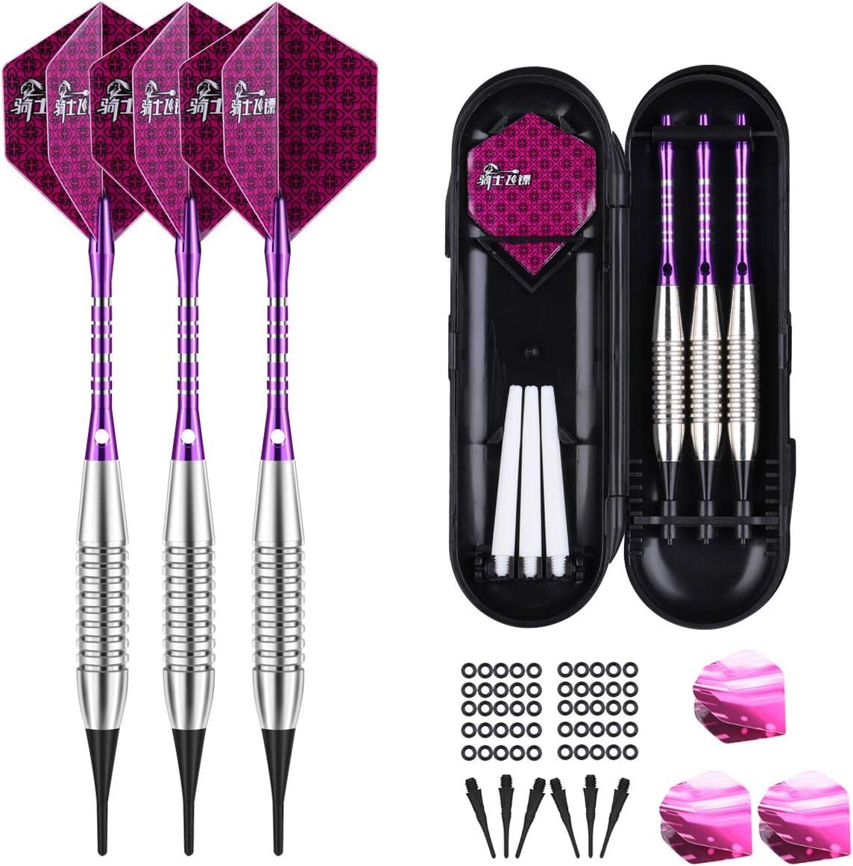100pcs nylon dart shafts 6mm screw thread plastic darts accessories M/&R