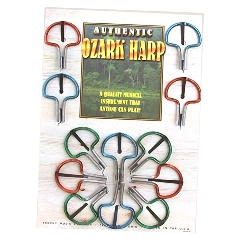 Grover 3485 Ozark Jaw Harp Display Card