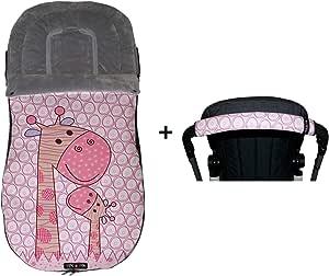 Tris&Ton Saco silla de paseo universal para bebe + Empuñadura ...