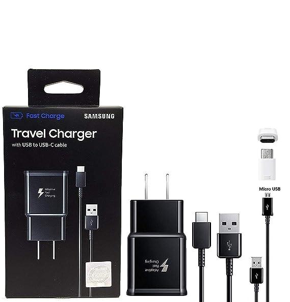 Offical OEM Samsung Cargador de Carga rápida Adaptable, para ...