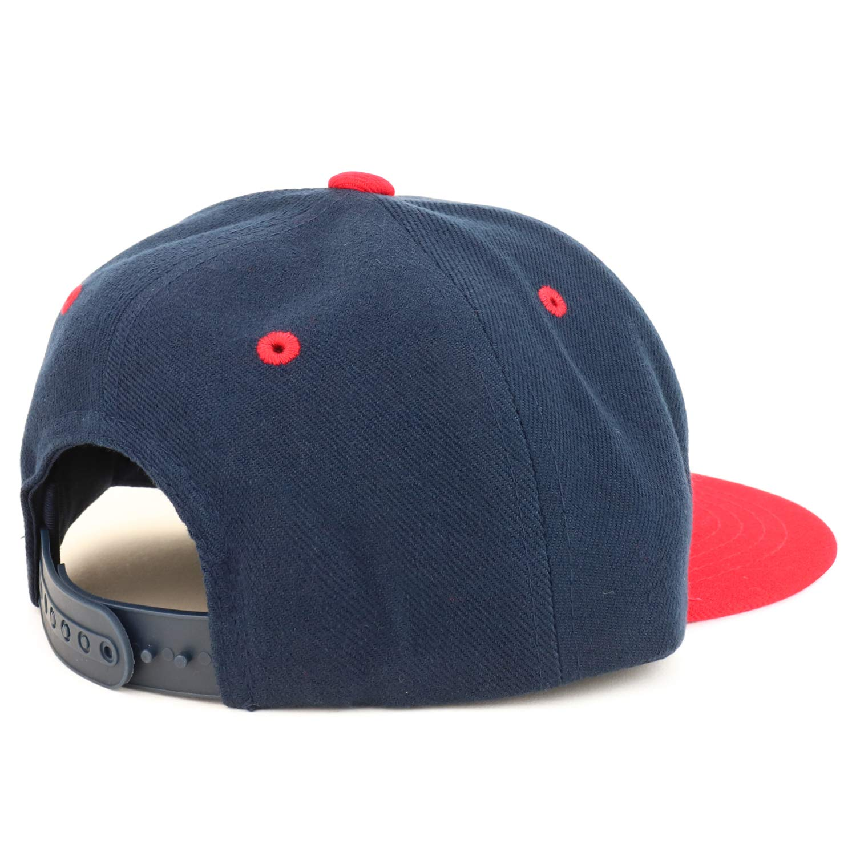Armycrew Youth Kids Watermelon Patch Flat Bill Snapback 2-Tone Baseball Cap