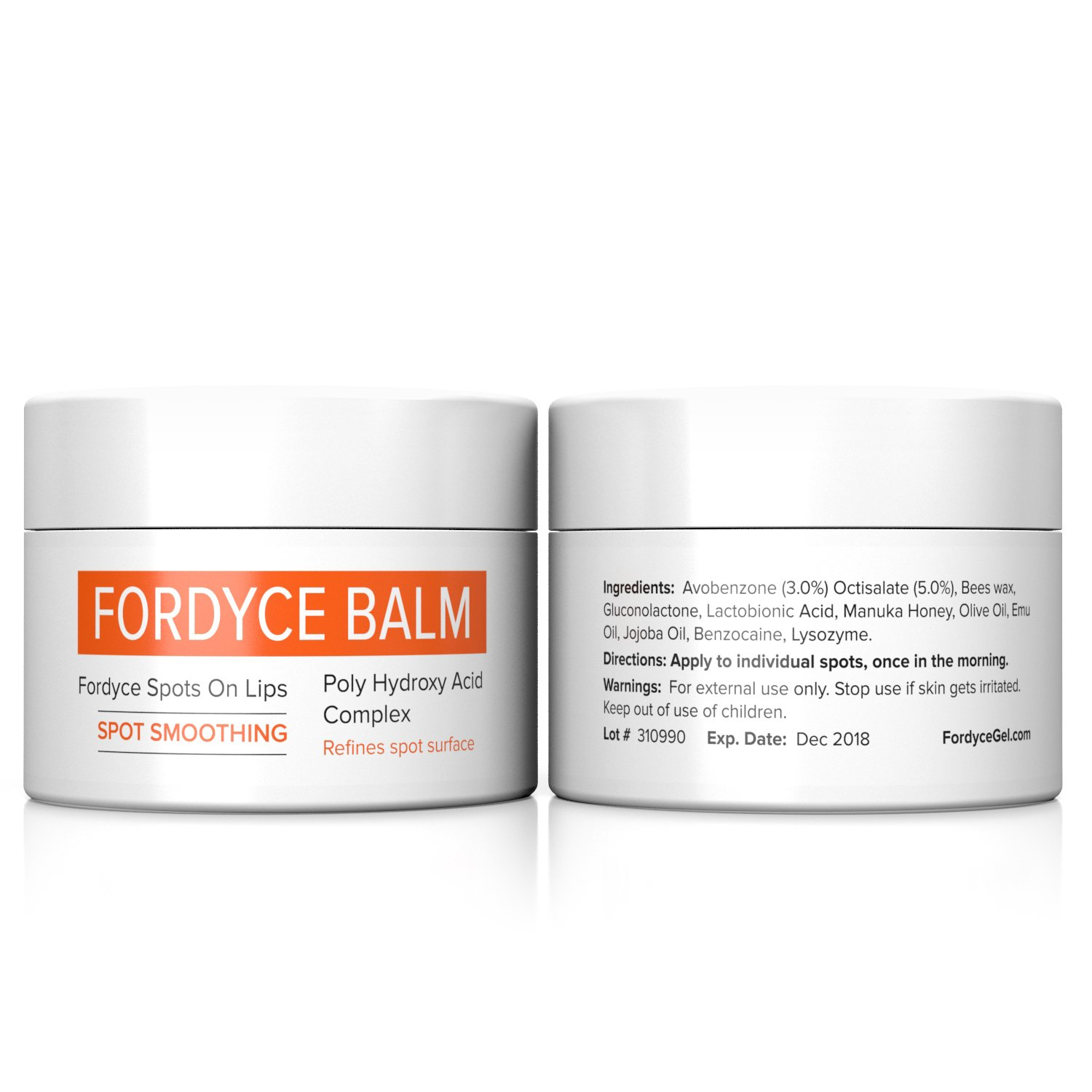 Fordyce Spots Removal Cream FOR LIPS  The first clinically proven fordyce  spot home treatment for men