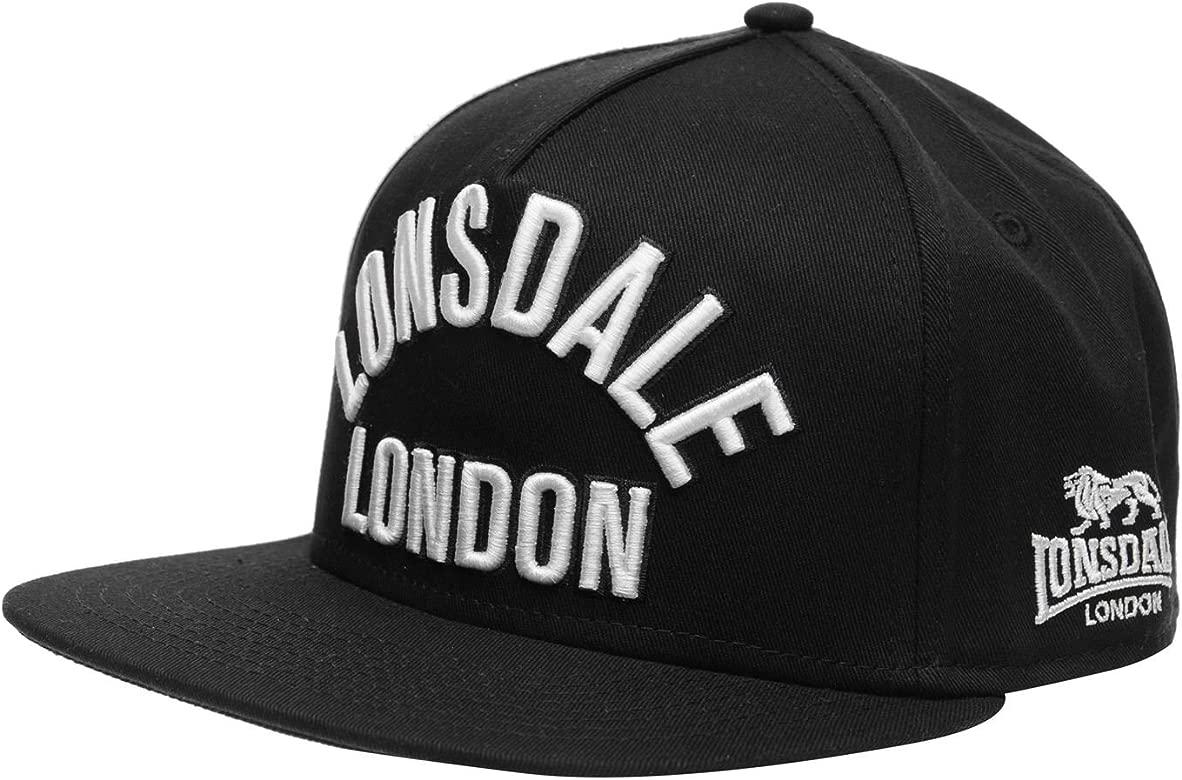 Lonsdale Hombre London Snapback Gorra Negro Hombres: Amazon.es ...