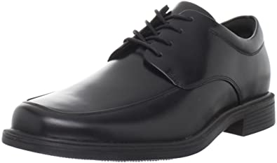 Rockport Men's Evander Moc Toe Oxford-Black-6.5 W