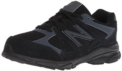 270ce70859f51 New Balance Boys' 888v1 Running Shoe, Black/Thunder, 2 M US Infant