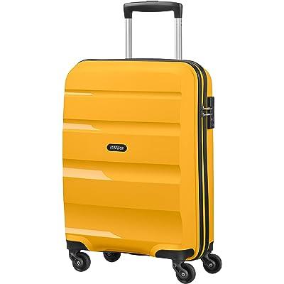 American Tourister Bon Air - Spinner Small Strict Equipaje de Mano, 55 cm, 31.5 Liters, Amarillo (Light Yellow)
