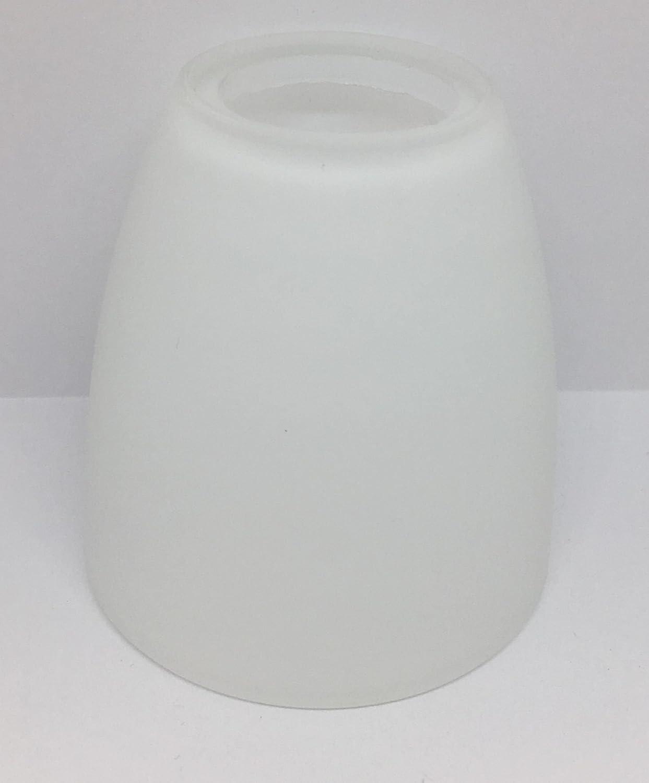Lampenglas Lampenschirm Ersatzglas E14 opalfarbig 75mm weiss G8222-01 KHL