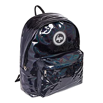 082f08554fa6 Hype Holographic Backpack Black  Amazon.co.uk  Shoes   Bags
