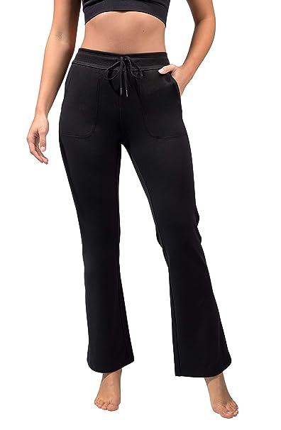 Amazon.com: Reflex - Pantalones de chándal con forro polar y ...