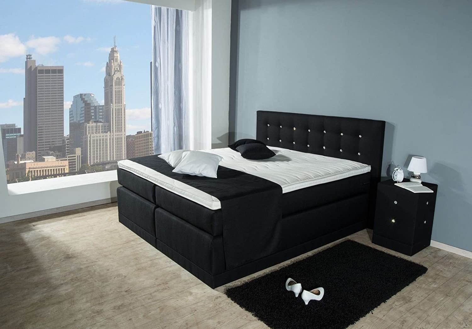 beste wahl boxspringbett 180x200 beste wahl boxspringbetten. Black Bedroom Furniture Sets. Home Design Ideas