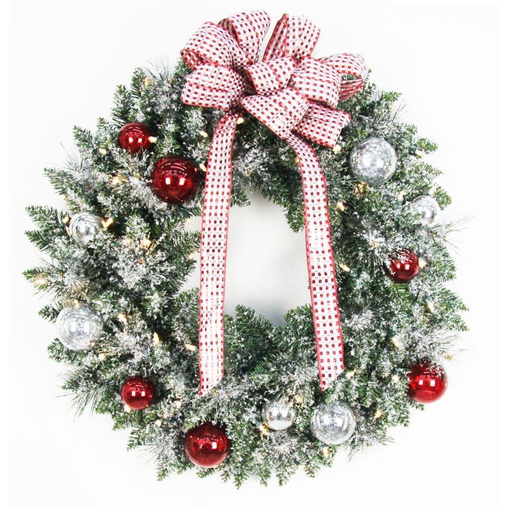 Large Christmas Wreath Outdoor | Christmas Time Coming
