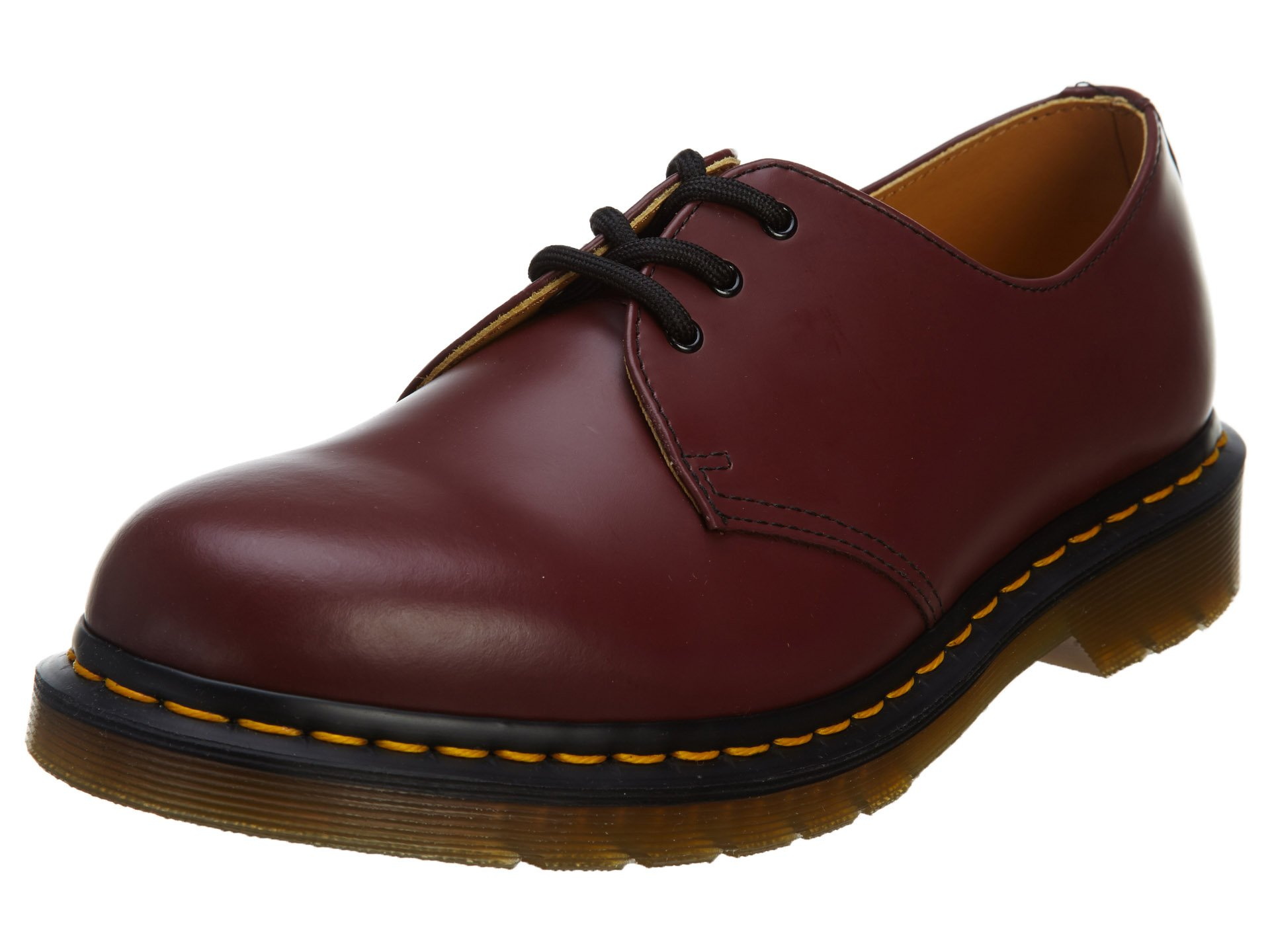 Dr. Martens 1461 Oxford Shoes Unisex Style: 11838600-CHERRY RED Size: 46 by Dr. Martens