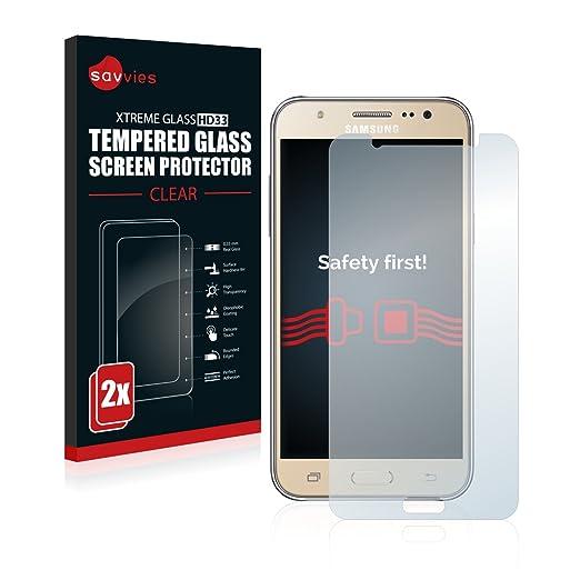 16 opinioni per [2-Pack] Savvies Vetro per Samsung Galaxy J7 (2016) Pellicola Vetro Temperato,
