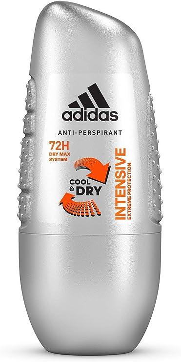 adidas Intensive Anti perpirant Desodorante Roll On para hombre ...