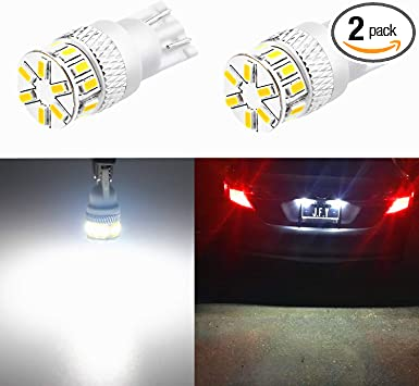 1x Fits Nissan Leaf Bright Xenon White LED Number Plate Upgrade Light Bulb