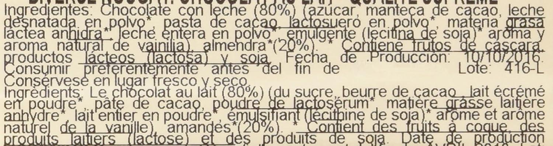 Gourmet Turrón De Chocolate Leche Con Almendras - 200 g: Amazon.es: Amazon Pantry
