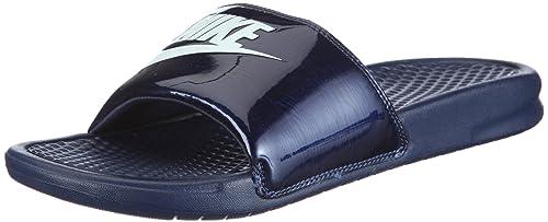 best authentic f076d 37ac7 Nike Benassi Blue, Zapatillas de Deporte para Hombre  Nike  Amazon.es   Zapatos y complementos
