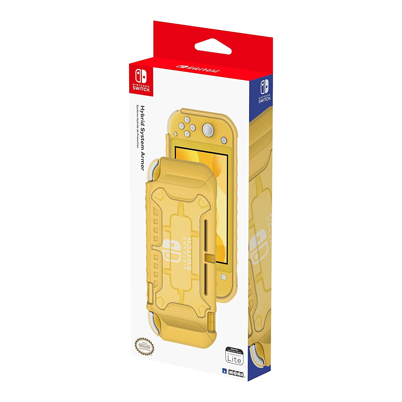 Funda Nintendo Oficial para Nintendo Switch Lite (Amarillo)