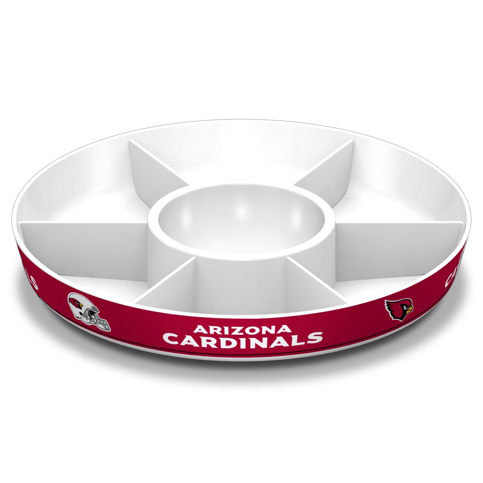 Fremont Die NFL Arizona Cardinals Party Platter, White by Fremont Die