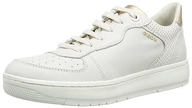 C1000 femme Sneakers Blanc Nimat EU Basses D Geox 38 Amazon D RaxqwX016