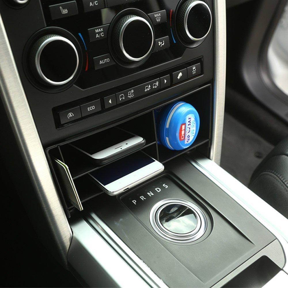 Multifunktionale Aufbewahrungsbox mit Handyablage für die Mittelkonsole, aus Kunststoff BEINSTOCK