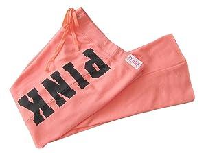 Victoria's Secret PINK Flare Pant Sweatpants, Neon Large