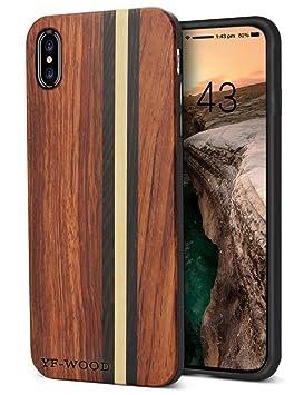 carcasa madera iphone 8