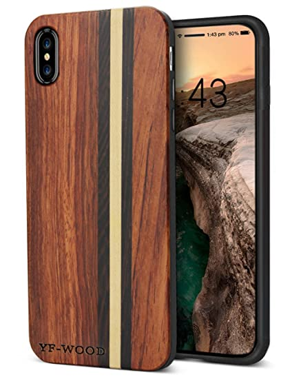 iphone xs case wood
