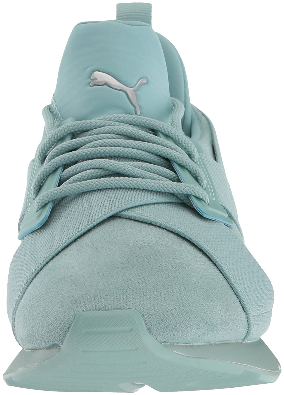 PUMA Women's Muse Elevated Wn Sneaker B0721LH6FQ 7 B(M) US Aquifer-aquifer