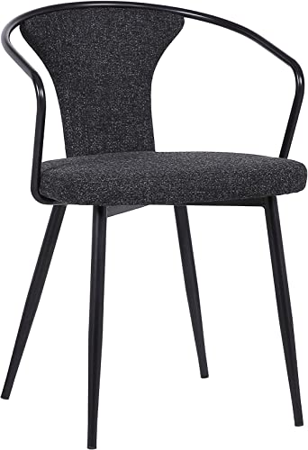 Armen Living Francis Fabric Dining Chair
