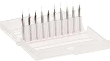 10pcs Carbide Micro Drill Bits 3.175mm CNC PCB Dremel 1//8 3.175mm Shank