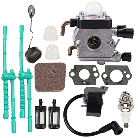 Carburetor Kit For St Fs38 Fs45 Fs46 Fs46c Fs55 Fs55r Km55r Fc55 Fs75 Fs80 Fs85 Trimmer C1q-s186a C1q-s143 C1q-s153 C1q-s71 Back To Search Resultstools