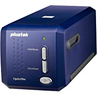 Plustek Scanners de diapositives OpticFilm 8100, bleu