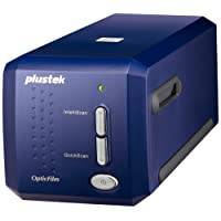 Plustek OpticFilm 8100 35mm Dia/Negativ Filmscanner (7200 dpi, USB) inkl. SilverFast SE