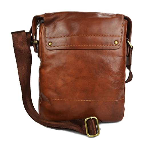 Amazon.com  Leather shoulder bag satchel mens leather bag ipad tablet bag  brown luxury bag crossbody hobo bag  Handmade 27776260a3402