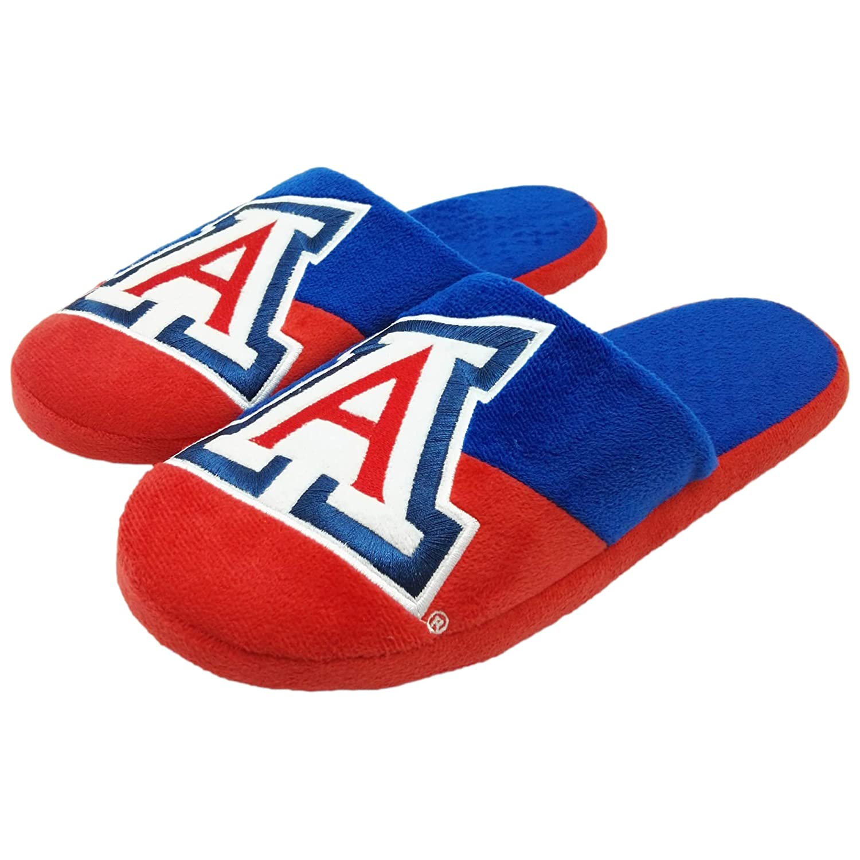 FOCO NCAA Mens Colorblock Slide Slippers