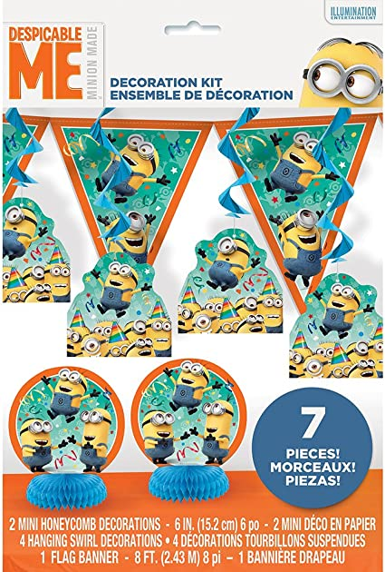 Amazon.com: Minions de la película Despicable Me, kit ...