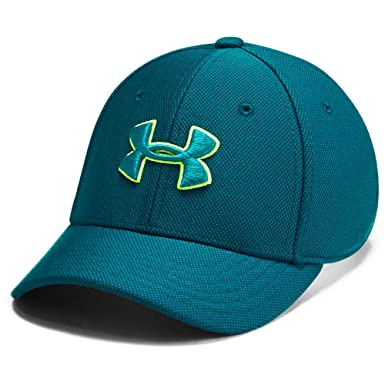 Under Armour Boys Blitzing 3.0 Cap Gorra, Niños, Verde, S/M ...