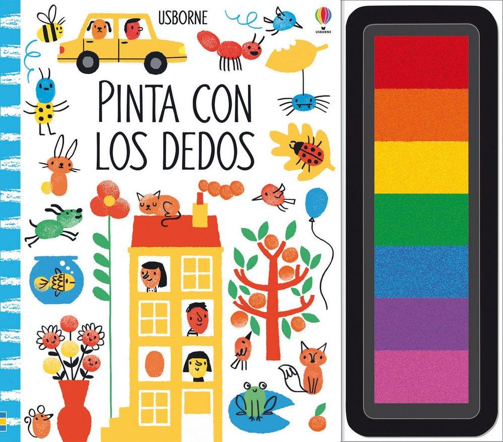 Pinta Con Los Dedos: Amazon.es: Fiona Watt: Libros