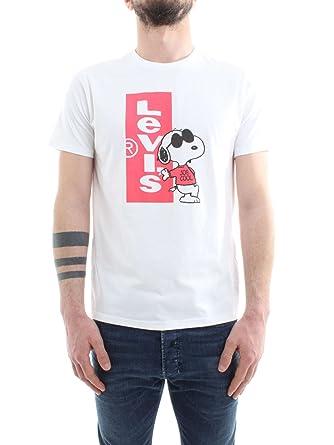 Levi's Whitered Graphic Snoopy Shirt Setin Cny T Neck Redtab 2 MSpUzV