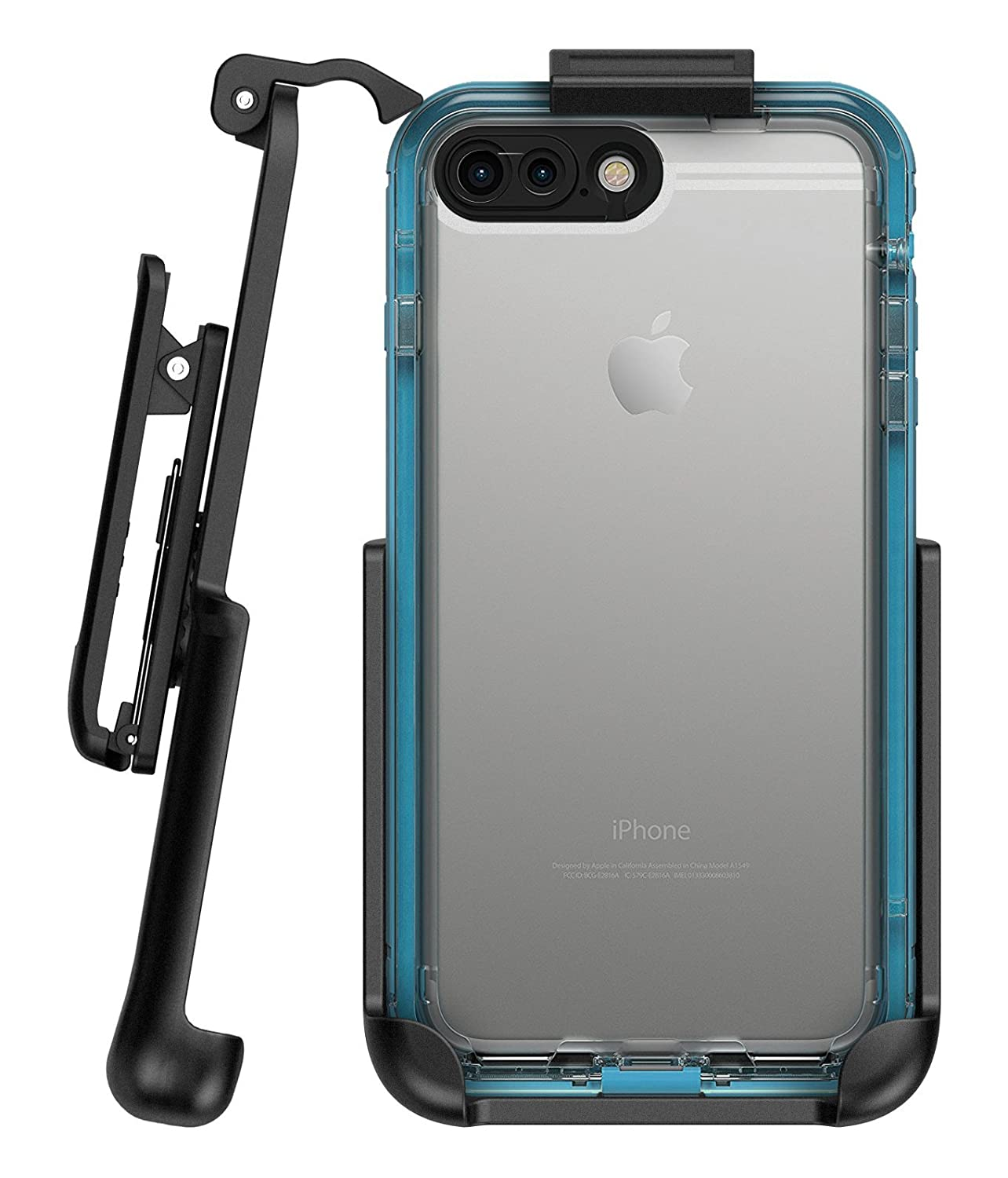 the best attitude c366c 2789c Encased Belt Clip Holster for Lifeproof Nuud Case - iPhone 7 Plus (5.5