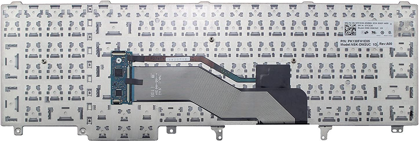 Original New for Dell Precision M2800 06H4JY 6H4JY NSK-DW2UC 1D US UI Keyboard