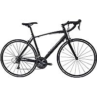 Tommaso Forcella Endurance Aluminum Road Bike, Carbon Fork, Shimano Claris R2000, 24 Speeds, Aero Wheels, Matte Black…