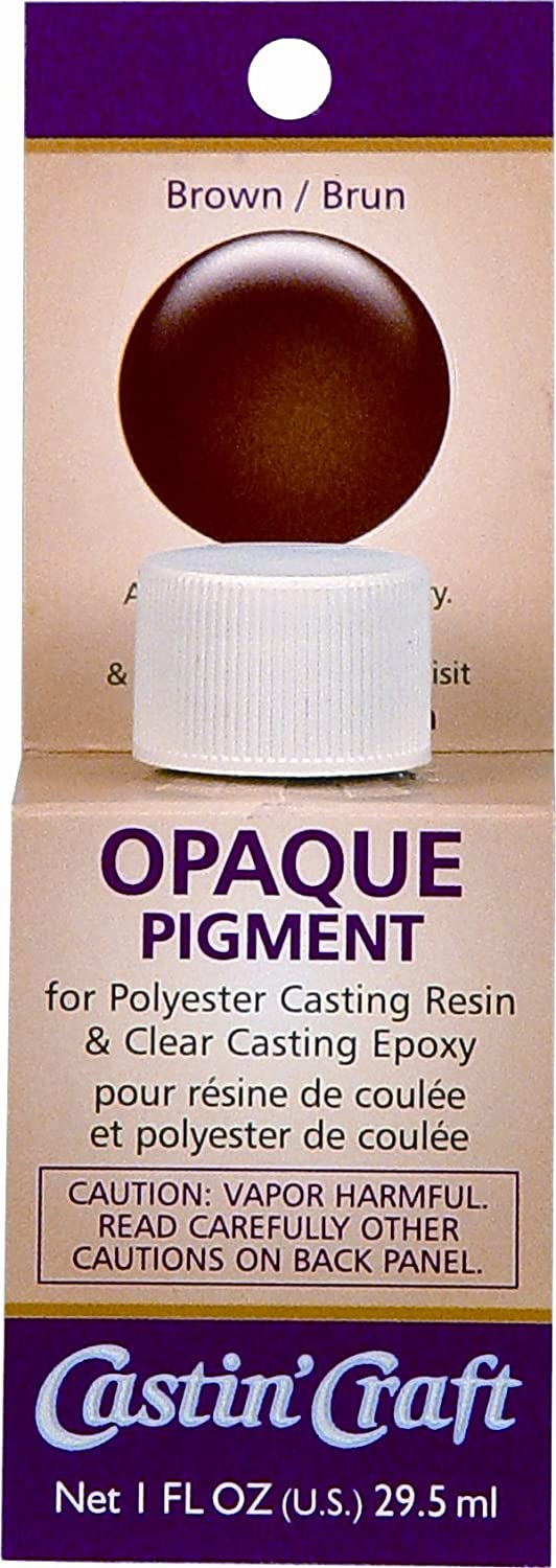 Castin craft color pigment - Amazon Com Environmental Technology 1 Ounce Casting Craft Opaque Pigment Brown Arts Crafts Sewing