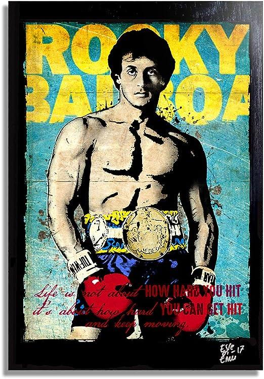 Rocky Balboa Rocky 4 Pop Art poster art print