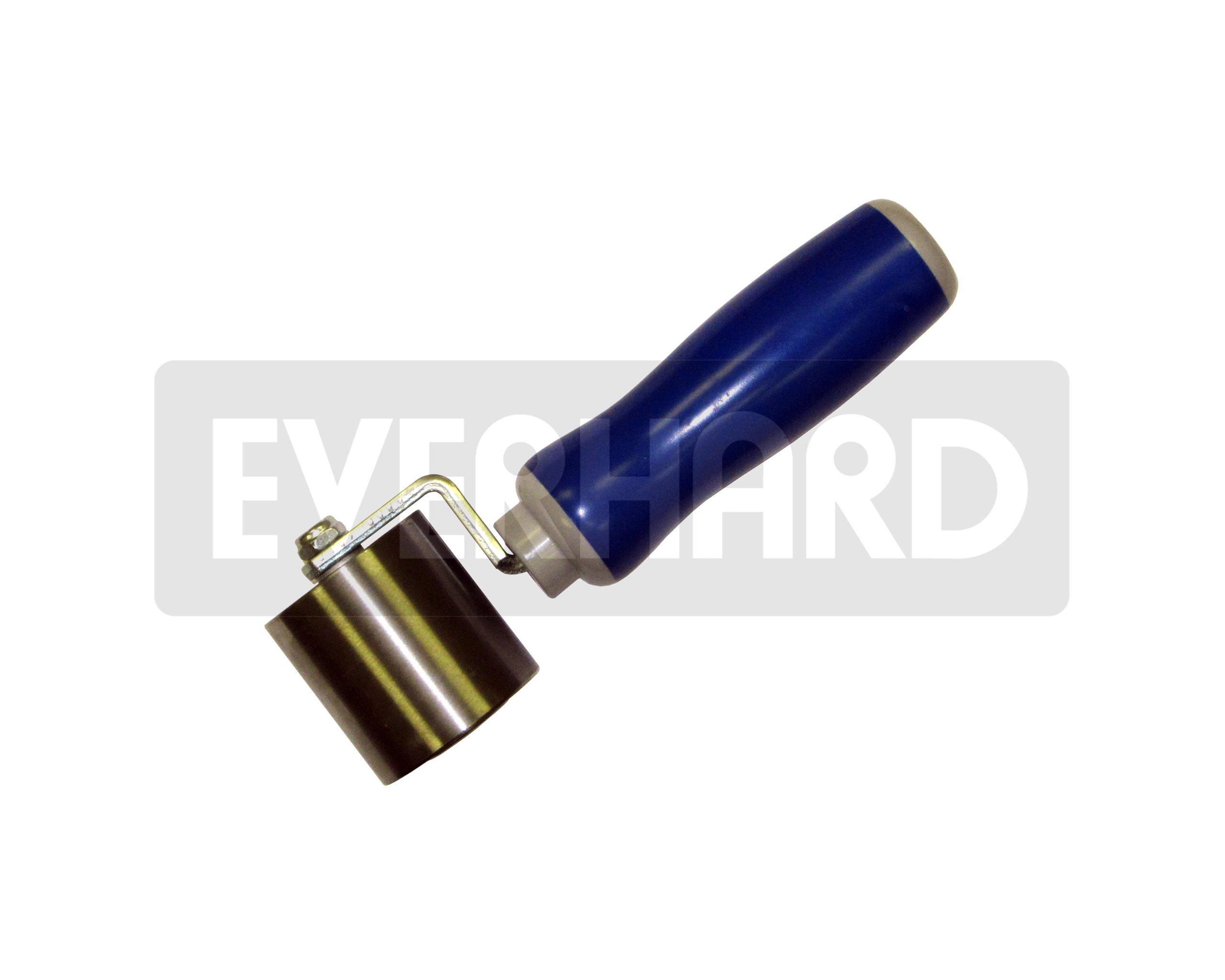 MR02130 Everhard Convertible Steel Seam Roller, 2'' dia. x 2'' wide