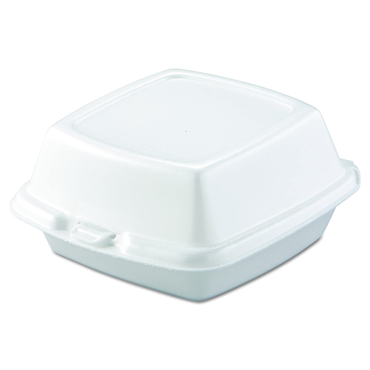 Amazon.com: Dart 60HT1 Carryout Food Containers, Foam, 1-Comp, 5 7/8 x 6 x 3, White (Pack of 50): Health & Personal Care