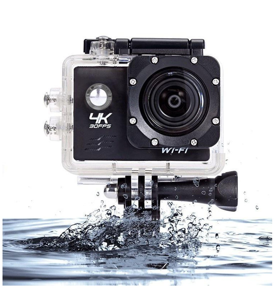 WIFI Sports Action Camera Waterproof Cameras - HD 1080P Underwater Camera Diving Camcorder with Mounts and Accessories for Kids, Snorkeling, Motorcycle, Bike, Helmet, Car, Ski and Water Sports