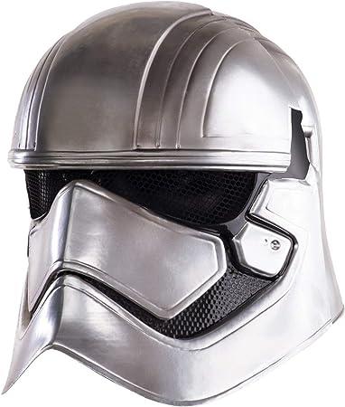 Casco Capitan Phasma Adulto,De la licencia de Star Wars,Para complementar tu disfraz