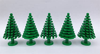 Amazoncom Lego Pine Tree Large 5 Pack Toys Games